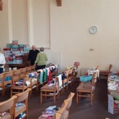 Buckden - Shoebox Appeal Packing