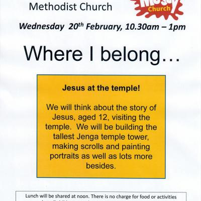 Messy Church - BS - 2019-02-20